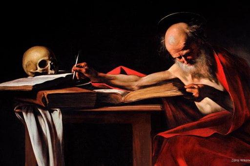Svaty Jeronym wikimedia Caravagio